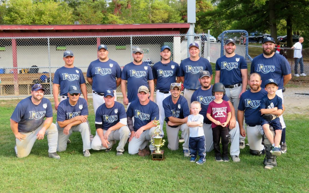 Back to Back Champions – Rays Win 2019 Centre Sluggers Title